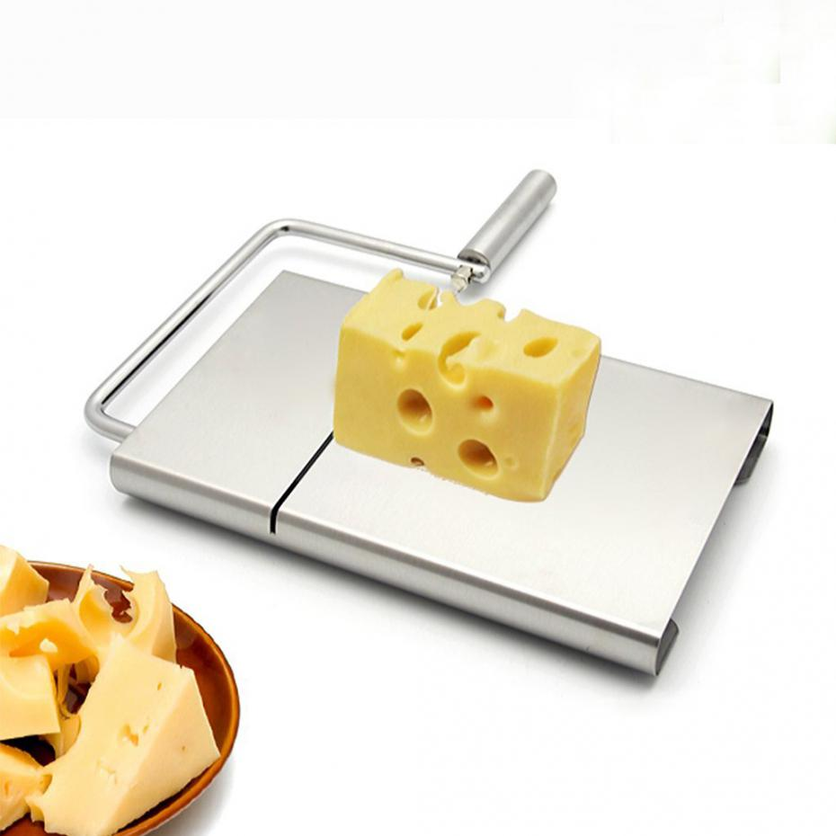 Practical Stainless Steel Cheese Slicer Butter Cutting Knife Kitchen Gadgets Cooking Tools image