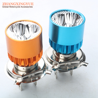 Modified Motorcycle LED H4 9 85v 9W Lamp Bulb 2 Color Choice
