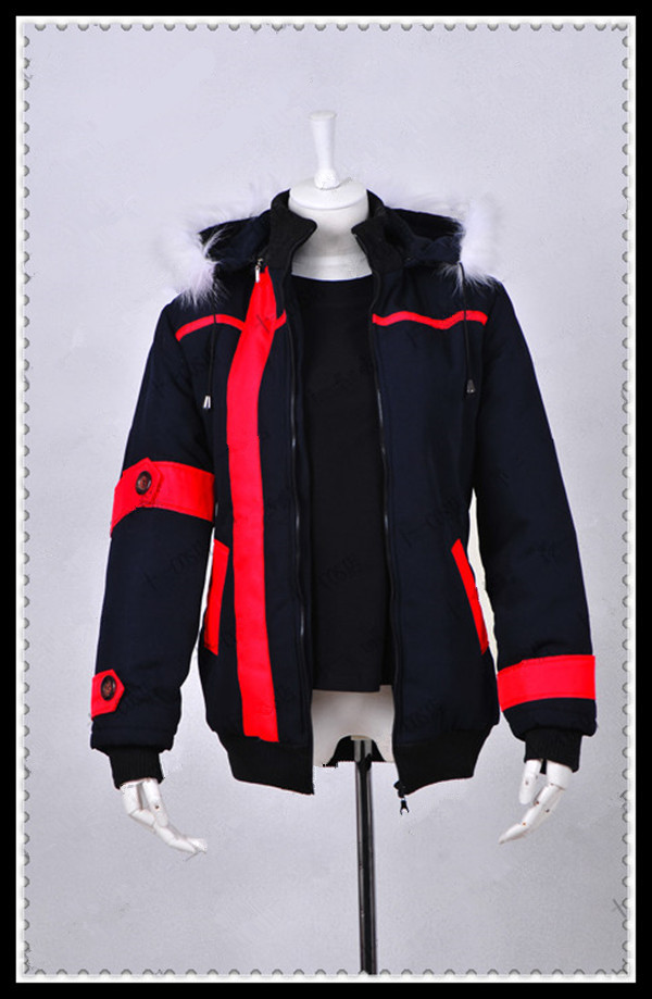 sword art online kirito cosplay costume thick cotton coat comfortable and warm winter jackets