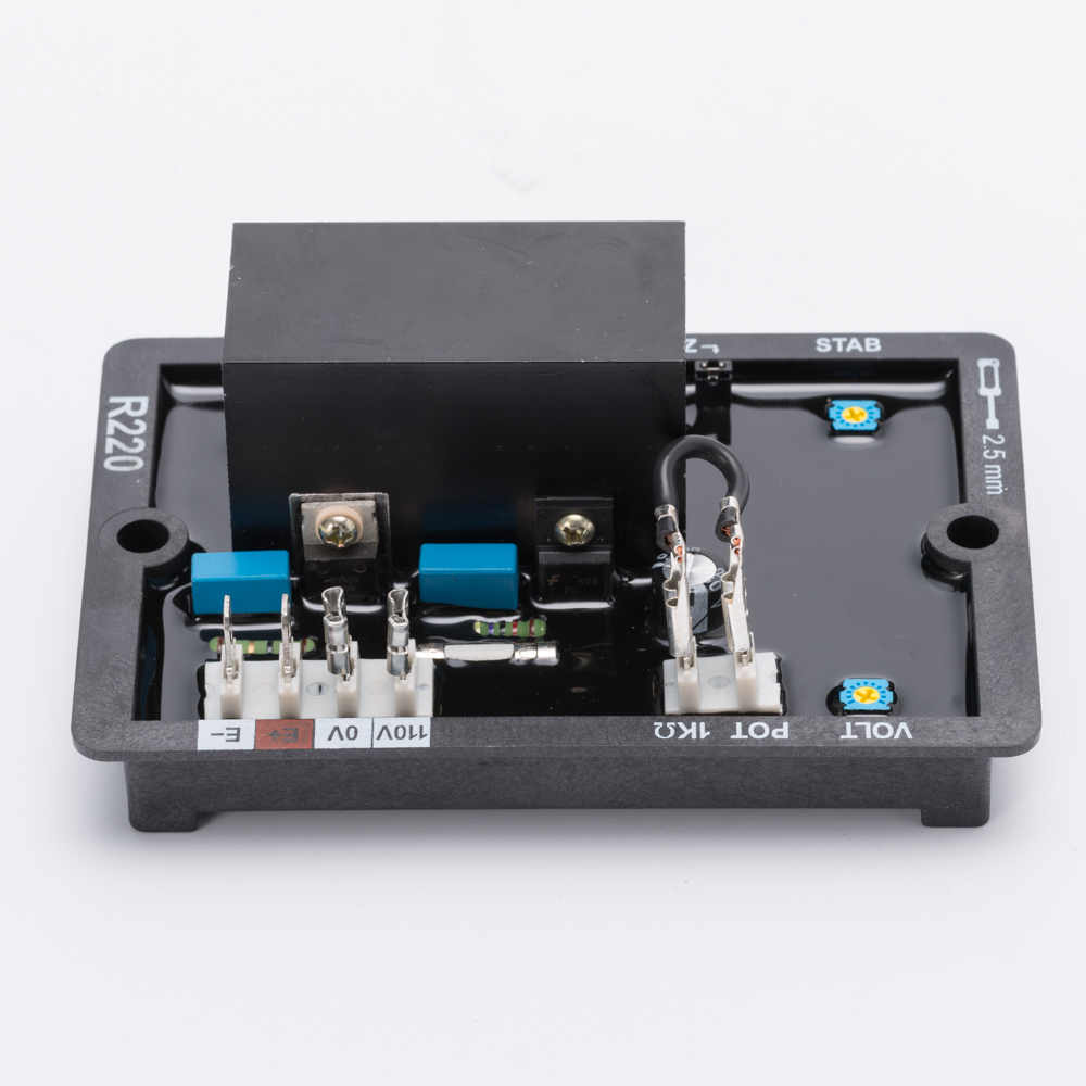 R220 Diesel Generator AVR Price Cheaper High Quality Genset Accessories Parts Automatic Voltage Controller for Alternator new smartgen controller genset controller generator controller hgm1770
