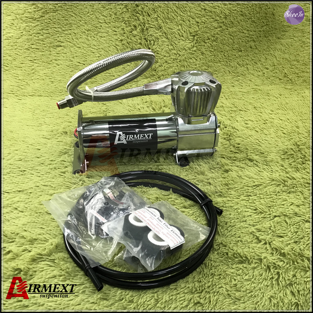 US $165 0 |AIRMEXT Air Pump 400c Air compressor Penumatic air suspension  system spare parts tunning vehicle parts-in Shock Absorber& Struts from
