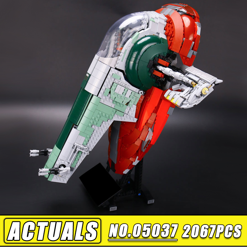 Bei Fen 2067Pcs Star Classic Wars LEPIN 05037 Slave UCS I Slave NO.1 Model Building Block Bricks Toys 75060 Boy Gifts lepin 05037 ucs slave toys no 1 model 2067pcs star wars building block bricks toys kits compatible legoing 75060 children hediye