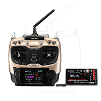 2018 New RadioLink AT9S Mode 2 2.4GHz 10CH Upgrade Transmitter with R9DS DSSS&FHSS Receiver For Drone Quadcopter