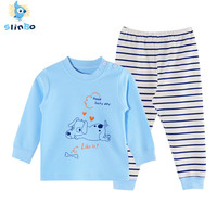 2018 Cotton Autumn Winter Baby Clothing Set Animal Warm Boys Clothes Brand Girls Top Pants Suit