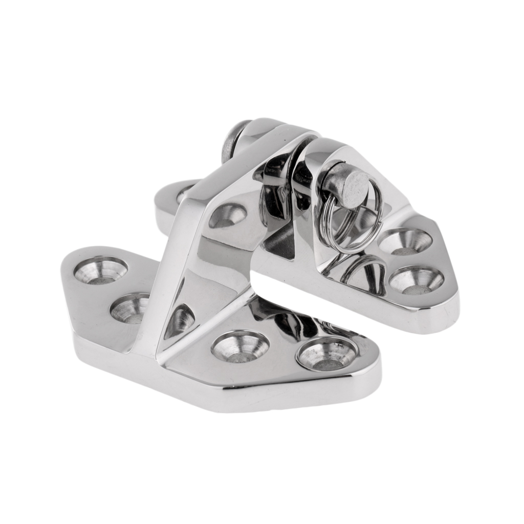 1 Pc 316 Stainless Steel Hatch Hinge with Universal Removable Pin Marine Boat Hardware Durable Boat Accessories 6 9 x 6 5 x 3 cm in Marine Hardware from Automobiles Motorcycles