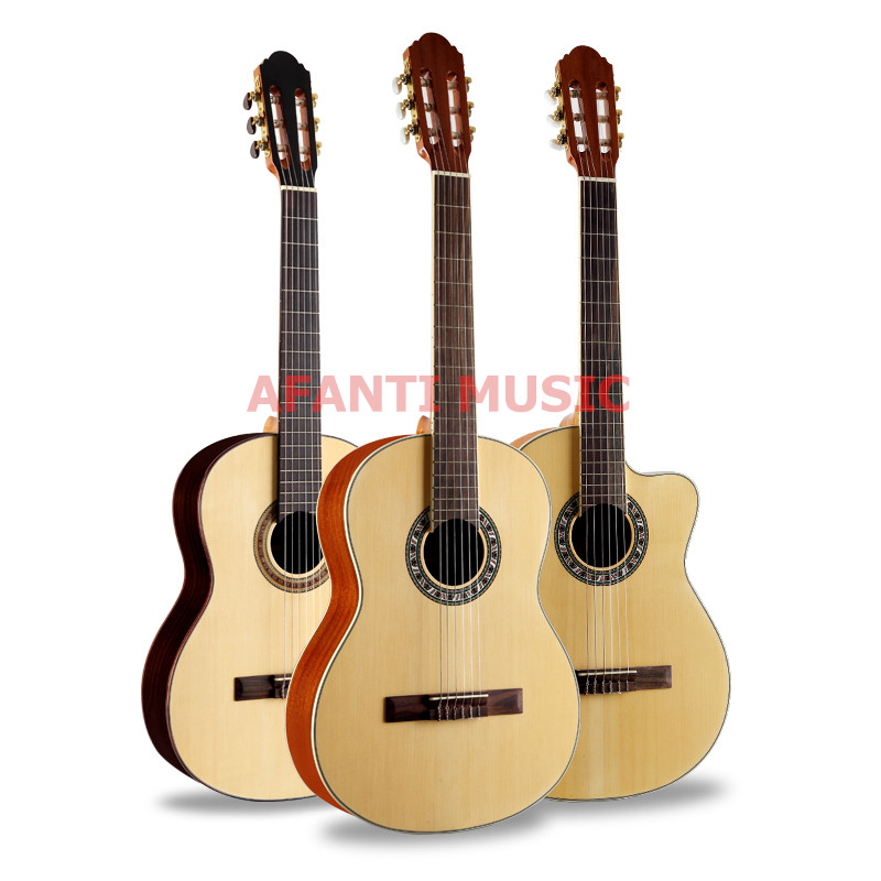 39 inch Burlywood color classical guitar of Afanti Music (ASG 1051)