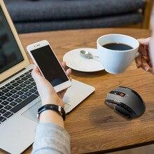Mini 2,4 GHz ratón óptico inalámbrico jugador para PC portátiles de juegos juego nuevo ratones inalámbricos con receptor USB
