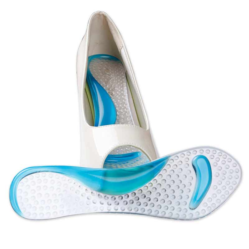Flat Feet Orthotic Arch Support Gel Pads Non Slip Pain