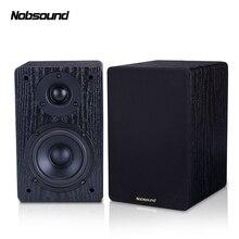 Nobsound NS-60S дерево 60 Вт 1 пара 4 дюйма книжная полка динамик s 2,0 HiFi Колонка звук дома Профессиональный динамик