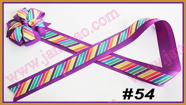 """180 шт Разноцветные 3"""" модные банты для банты из бутика фанки банты"""