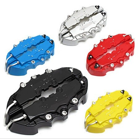 4pcs Universal Car Auto Brem Style Disc Brake Caliper Covers Front And Rear RD 5 Colors(Please choose the color you need)