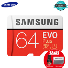 hot deal buy samsung memory card micro sd 256gb 16gb 32gb 64gb 128gb sdhc sdxc grade evo+ class 10 c10 uhs tf cards trans flash microsd new