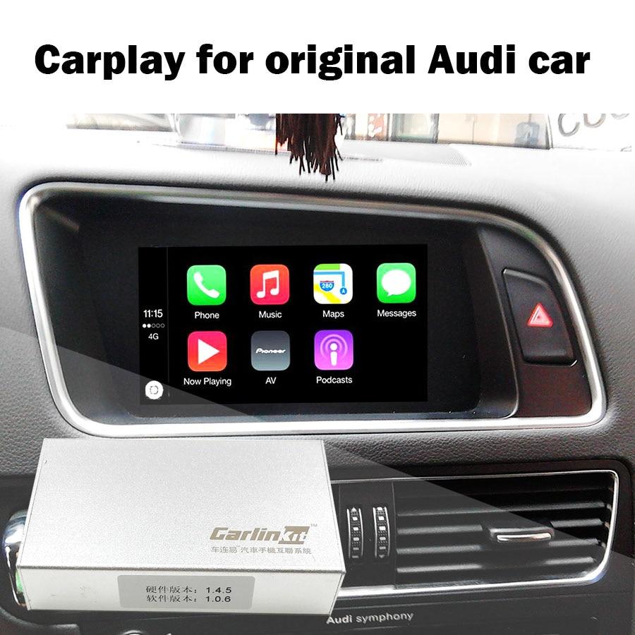 2018 Date modèle AUDI carplay IPAS Boîte Carplay pour A4 A6 A5 B9 Q5 D'origine Mise À Niveau de L'écran système MMI Carplay v3