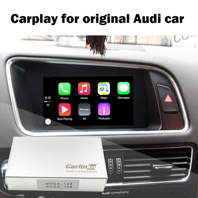 Newest Model AUDI Carplay IPAS Carplay Box For A A A B Q - Audi car play