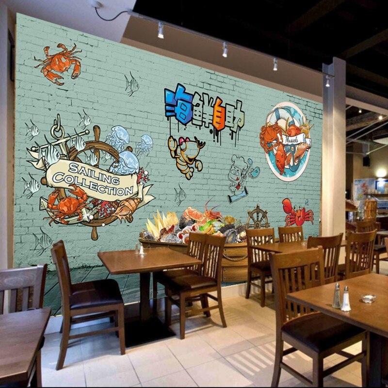 Restaurant Kitchen Wallpaper online get cheap restaurant seafood -aliexpress | alibaba group