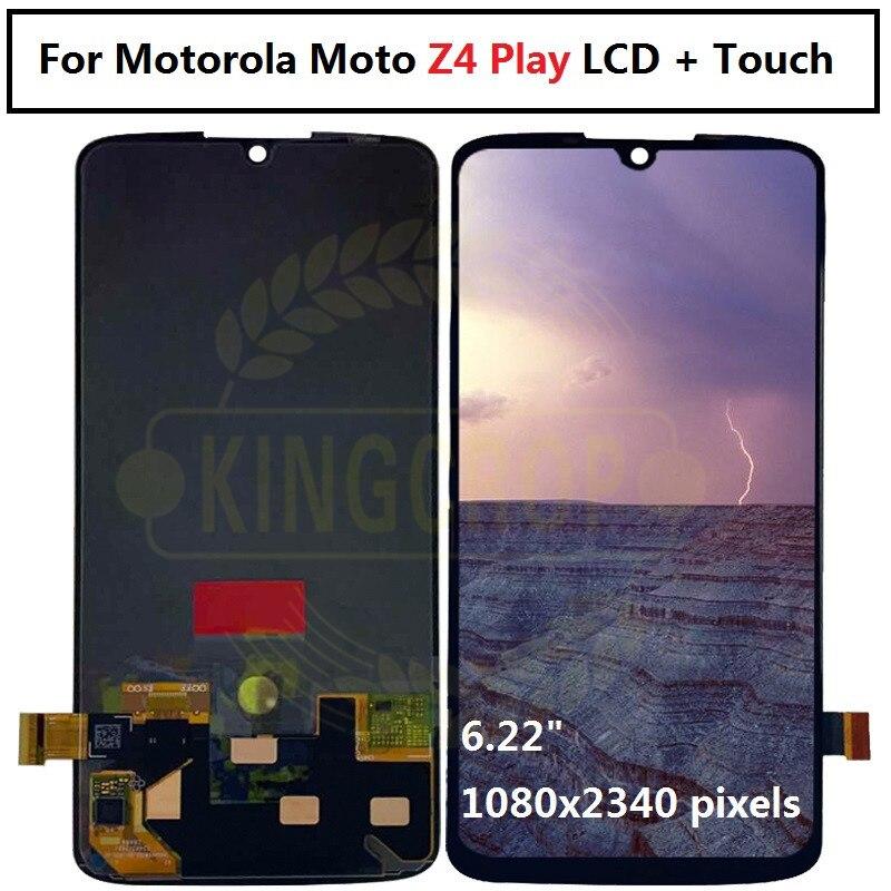 Para Motorola Moto Z4 Play LCD pantalla táctil digitalizador montaje para Moto Z4play pantalla LCD z4 play lcd envío gratis-in Teléfono Móvil LCD pantallas from Teléfonos celulares y telecomunicaciones on AliExpress - 11.11_Double 11_Singles' Day 1