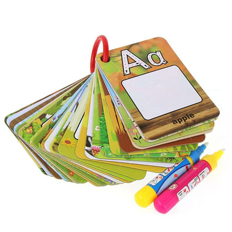 Able Hot Selling 2 Books Childrens English Alphabet Groove Hard Pen The Copybook Fonts Auto Fades Can Be Reused Words Letters Board Office & School Supplies
