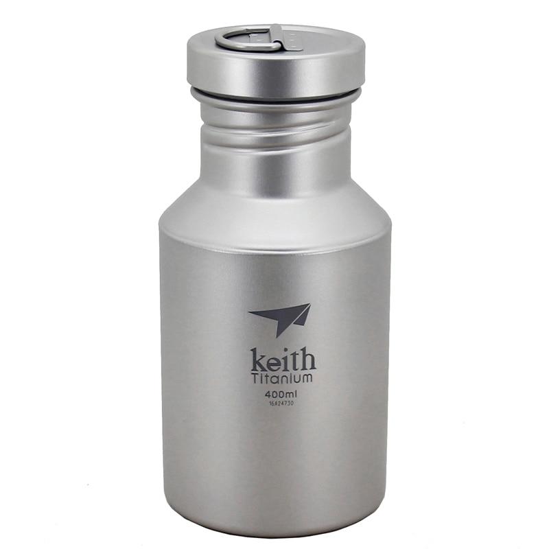Keith Titanium Sport Camping bouteille extérieur cyclisme et randonnée bouteille d'eau pique-nique vaisselle