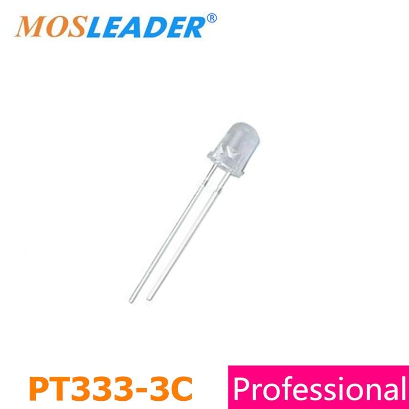 Mosleader DIP PT333-3C 5MM 1000PCS PT333 High quality Phototransistor stc15f104e 35i dip 15f104 dip8