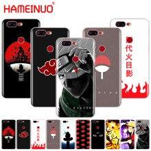 HAMEINUO аниме Наруто минималистский чехол для телефона для Oneplus one plus 6 5T 5 3t 2 X A3000 A5000