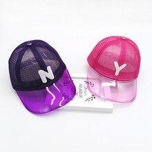 2019 Fashion Tapes New Kids Baseball Cap Boys Girls Hat Baby Sun Hat Children Cap 38 Colors