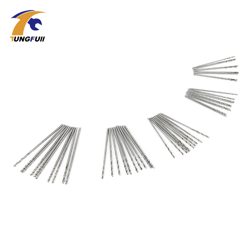 TUNGFULL 50 pcs Micro Forets Ensemble 0.5mm-0.9mm Convient aux Forets - Foret - Photo 3