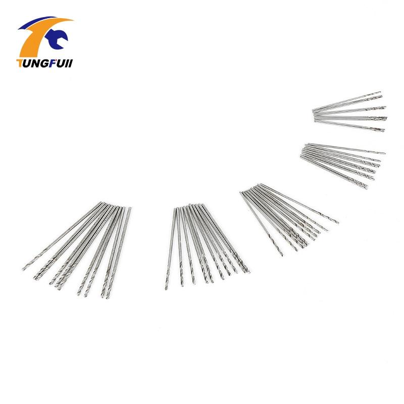 Set di micro trapani TUNGFULL 50 pezzi 0,5 mm-0,9 mm Adatto per punte - Punta da trapano - Fotografia 3