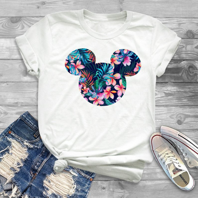 ZOGANKI Summer Women Harajuku Tshirt Kawaii Cartoon Tee Shirts Graphic Tee Fashion Women Tops Short Sleeve T Shirt Streetwear