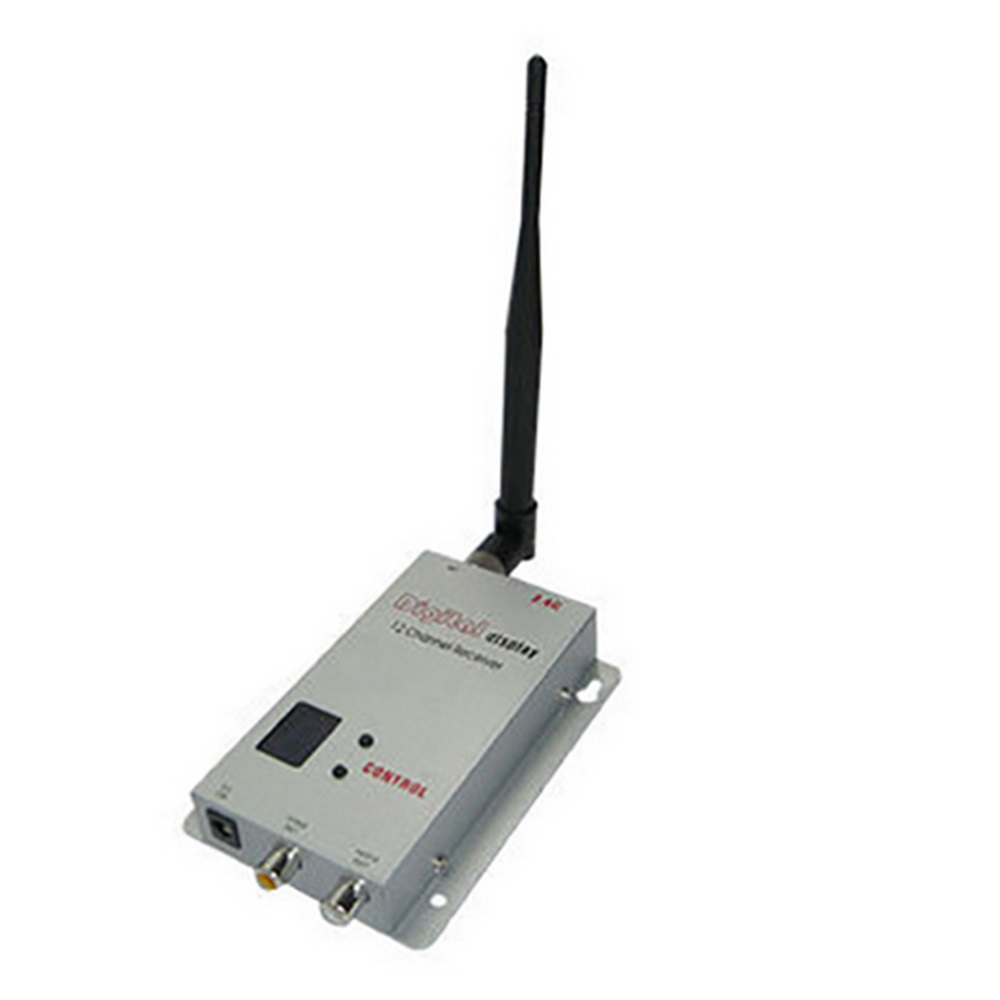 Partom 2.4Ghz 12 Channels Receiver 2.3Ghz audio video image synchronous Rx