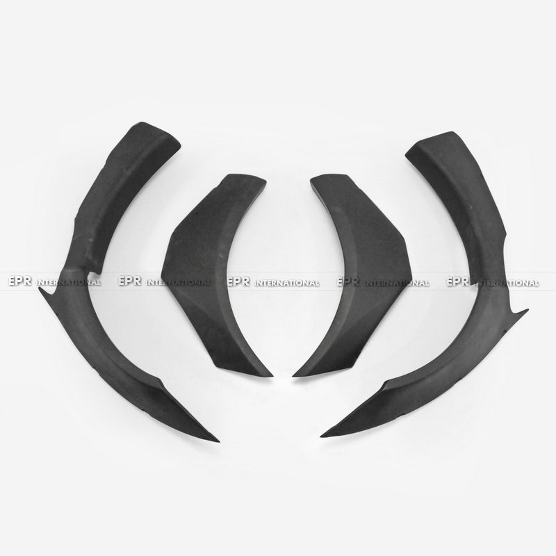 For BMW F82 M4 14 18 FRP Fiber Glass Unpainted LB Walk Style Front Fender Driver Passenger Side Wider Arch Flares Body Kit in Bumpers from Automobiles Motorcycles