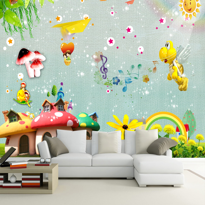 custom 3d decorating wall mural bedroom livingroom lovely background decorate painting for kids children home decor wallpapers