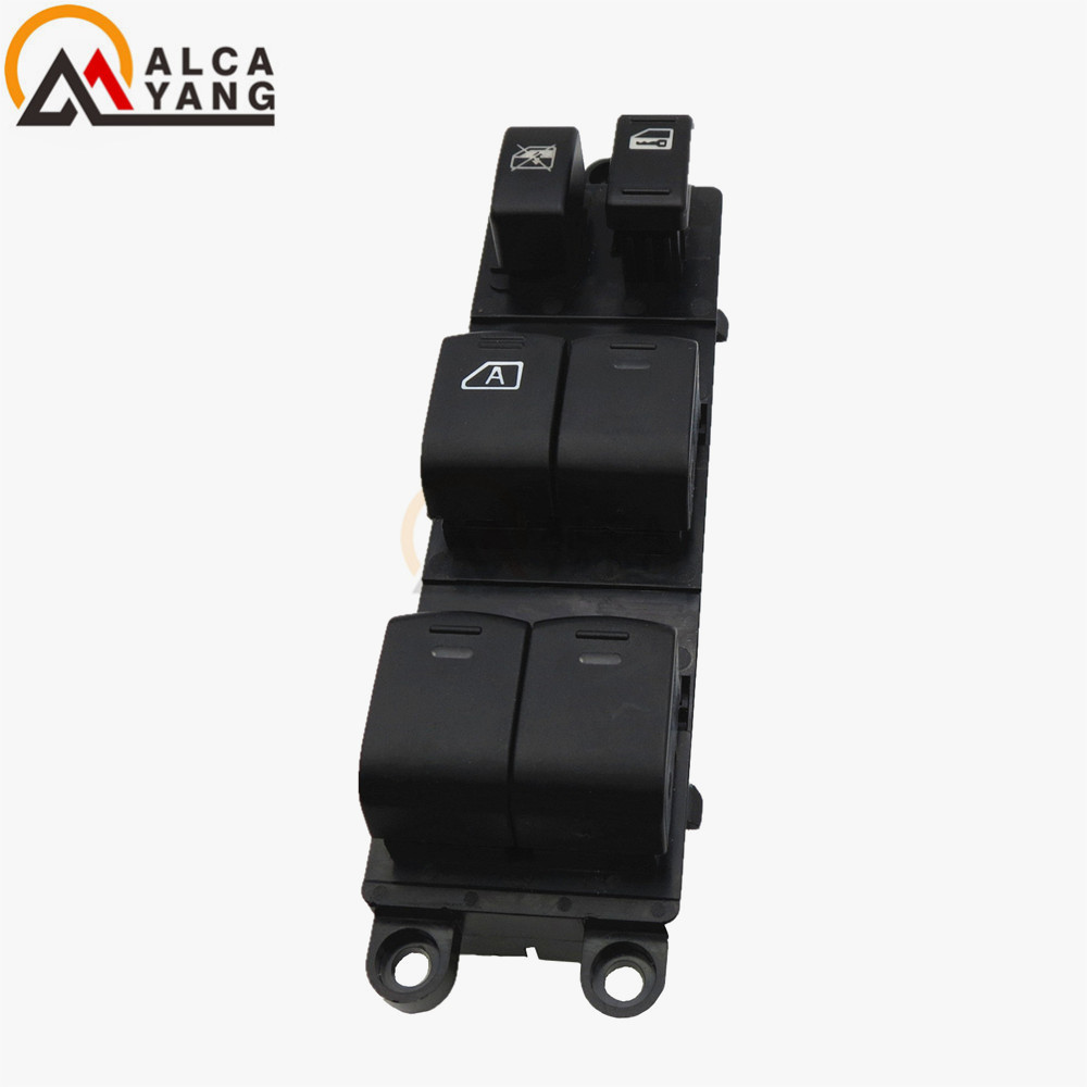 Malcayang 25401 zt50b new electric power window master switch for 2005 2008 nissan pathfinder sentra front in car switches relays from automobiles