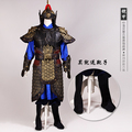 Ancient Chinese General Costume Three Kingdoms Period the General Armour Stage Show Performance TV Play Use Costume Hanfu