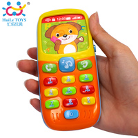 Original Huile Toys Electronic Toy Phone Kid Mobile Phone Cellphone Telephone Educational Learning Toys Music Machine