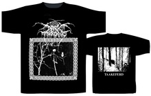 Summer Cotton Short Sleeve Darkthrone Under A Funeral Moon Men Gift O-Neck Shirts