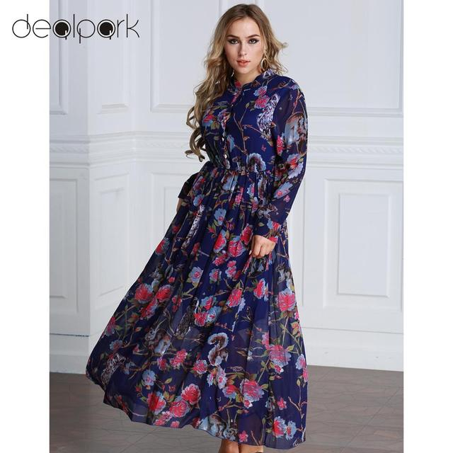 Aliexpress.com : Buy Autumn 5XL 6XL Women Floral Long Dress Plus Size  Chiffon Dresses Long Sleeves Button Front A Line Maxi Dress Oversize  vestidos ...