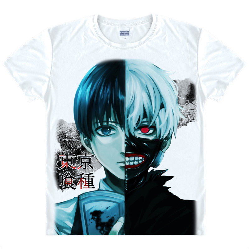 Tokyo Ghoul T-Shirt Koukaku Shirt High Quality T-Shirts anime cute gift Womens Printed T Shirts new anime christmas cosplay a