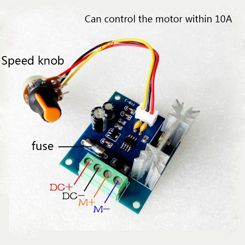 1pcs DC12V-24V brushless motor controller High Power Driver 360W-700W 30A