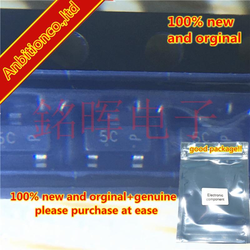10-20pcs 100% New And Orginal BAT54CLT1G BAT54C Silk-screen 5C SOT-23 Dual Series Schottky Barrier Diodes In Stock