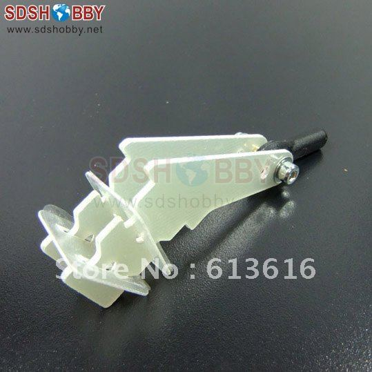 Plug in Fiberglass Rudder Control Horn Set D3x1 5x17 5x20xH30mm