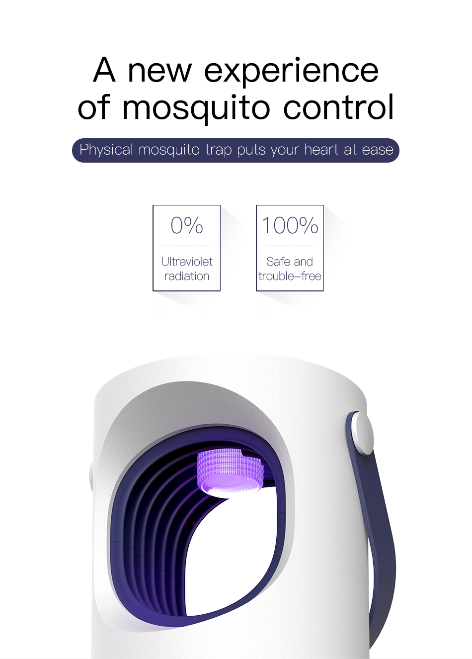 USB Light Mosquito Control Lamp Trap
