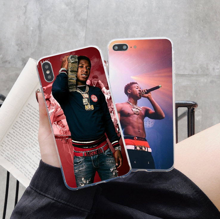 Youngboy Never Broke Again Merch 38 Soft Silicone Phone Case for iPhone X 10 6 6S Plus 7 7Plus 8 8 Plus 5 5S SE XS MAX XR Cover in Fitted Cases from Cellphones Telecommunications
