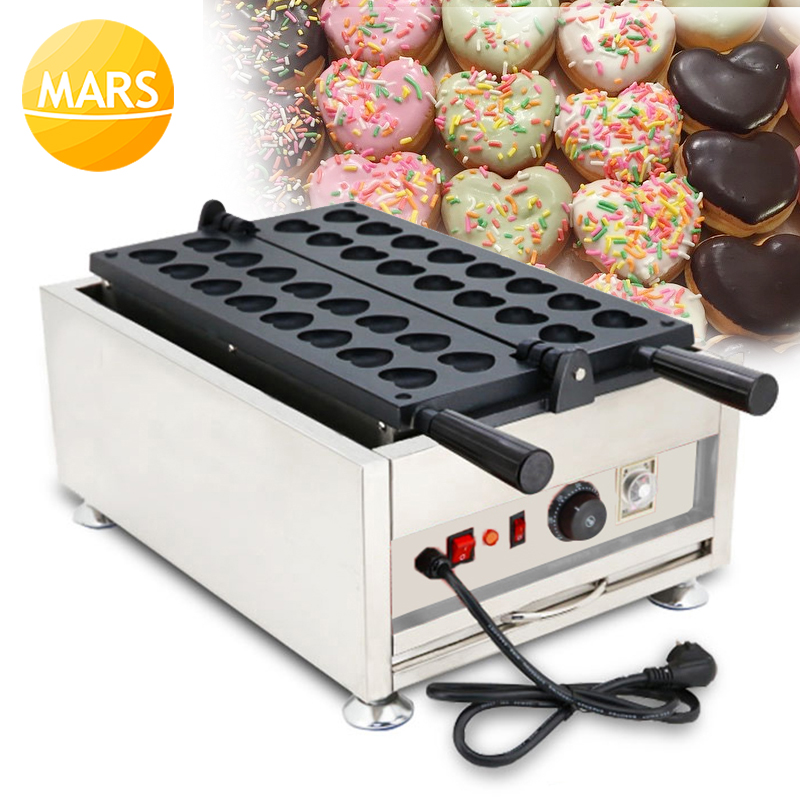 Commercial Home Use Heart Shaped Waffle Maker Machine Iron