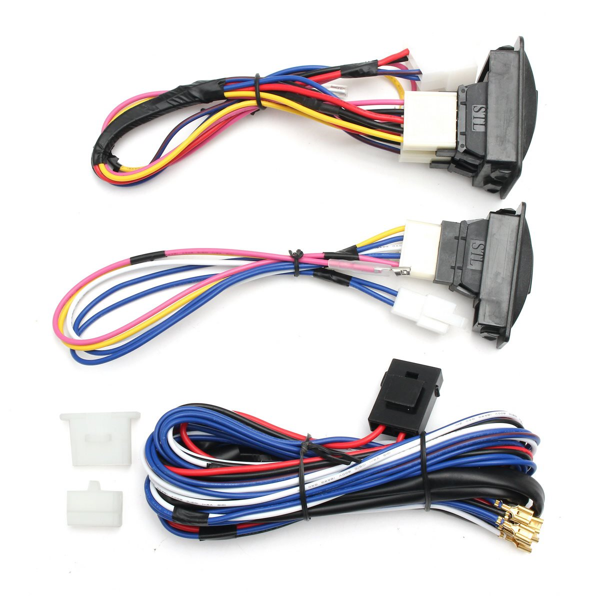 medium resolution of universal 12v power window glass lock rocker lift switch wiring harness kits for chevrolet ford hyundai nissan toyota vw in car switches relays from