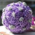 Букет Свадебные Цветы Искусства Ручной Работы Моделирование Розы И Жемчуг Невесты Свадебные Свадебные Букеты
