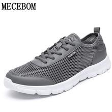 Большой размер 35-48 лидер Для мужчин; повседневная обувь летние сетчатые Мужская Обувь На Шнуровке легкий Для мужчин кроссовки zapatos hombre 1607 м