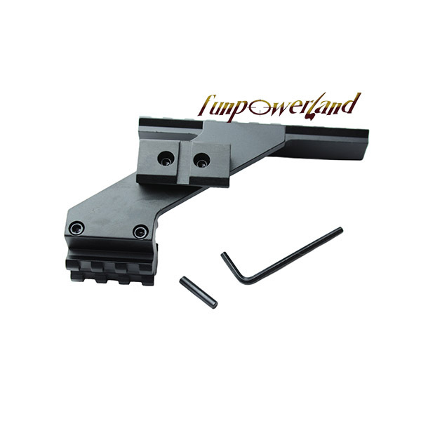 Funpowerland Pistol Tactical Universal Scope Mount Weaver & Picatinny Rail