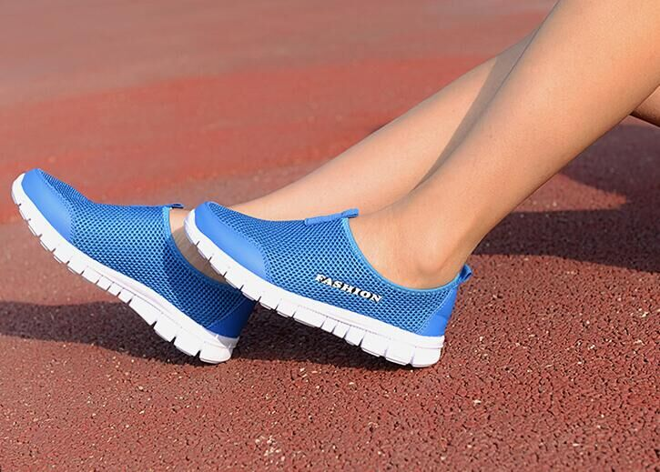 Summer autumn Casual Shoes Fashion Lazy Mesh Network Shoe Women Foot Wrapping Big Size 34 41