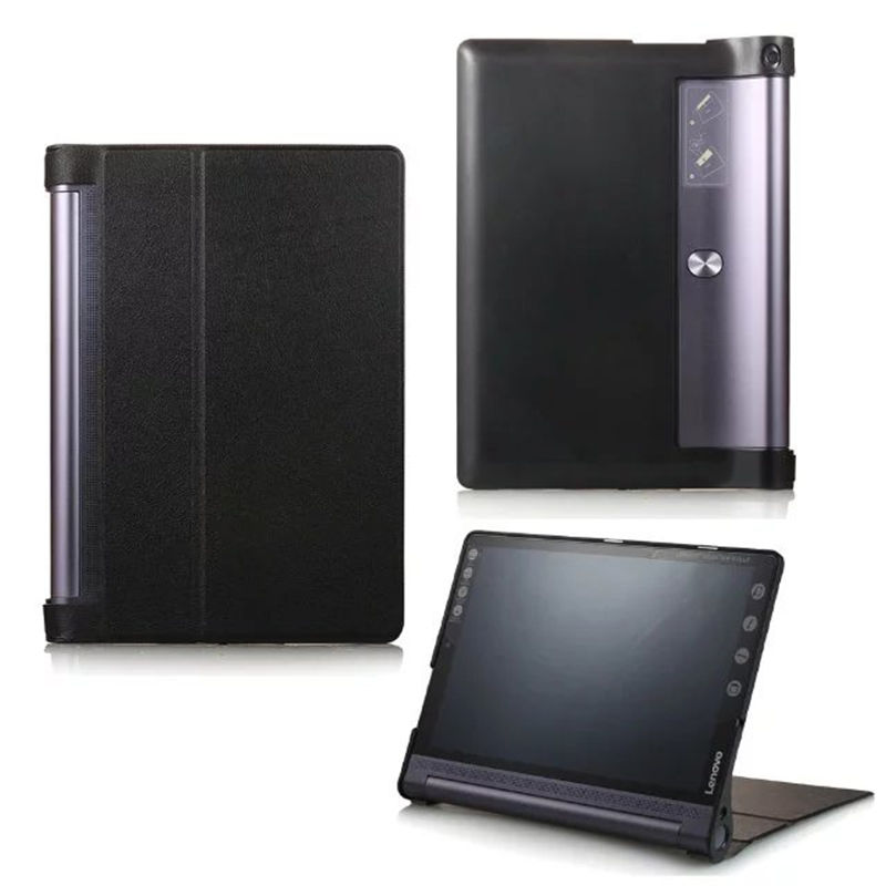 Cover Case For Lenovo Yoga Tab3 Tab 3 10 Pro X90 X90F M X90L 10.1inch Tablet PC Cases Smart Protective Cover PU Leather Protect 3 in 1 new ultra thin smart pu leather case cover for 2015 lenovo yoga tab 3 850f 8 0 tablet pc stylus screen film