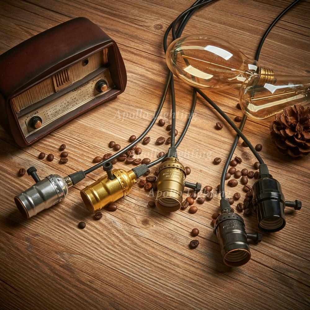 Led Coge Edison industrial Ikea de Vintage luces bombilla bf6ygY7